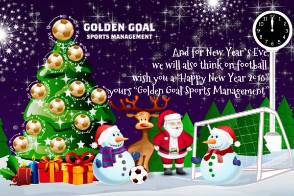 31th Dec 2017 - HAPPY NEW YEAR 2018 | GOLDEN GOAL SM