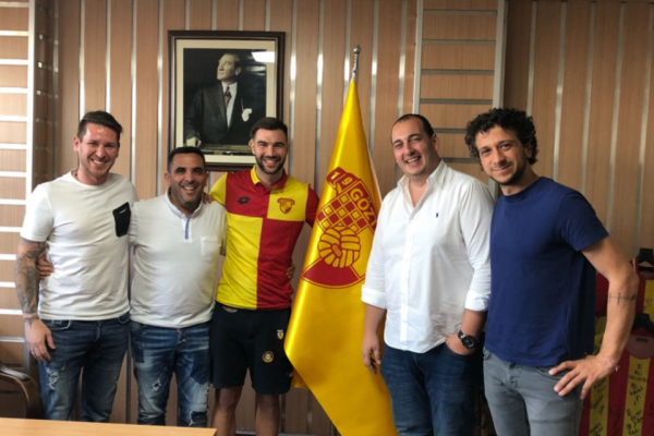 10th Jul 2018 - FAUSTO GRILLO IS NEW MEMBER OF GOZTEPE SK
