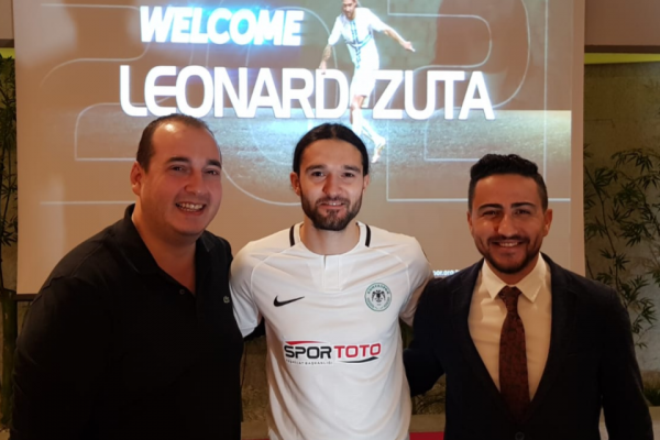 08/01/2019 - LEONARD ZUTA SIGNED WITH KONYASPOR