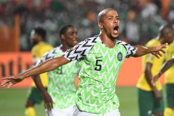 10/07/2019 - WILLIAM SCORES FOR AFRICA CUP SEMI-FINAL
