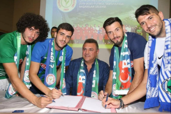 13/07/2019 - BURAK SIGNED WITH CAYKUR LONG-TERM CONTRACT